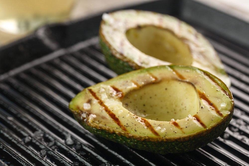 Avocado grillen