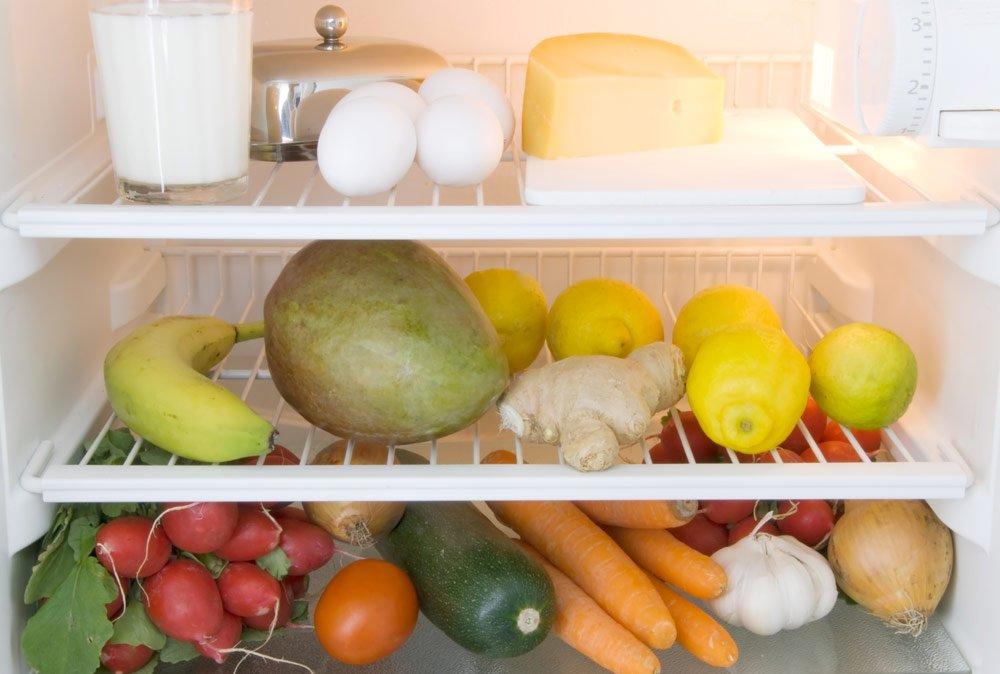 Ingwer im Kühlschrank lagern