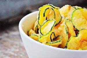 Zucchini Chips 2 Rezeptideen