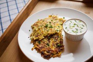 Zucchini Rösti - knackig, lecker und gesund