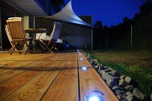 Garten Beleuchtung Einbaustrahler