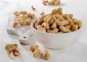 Erdnüsse sind zwar kalorienreich, aber gesund