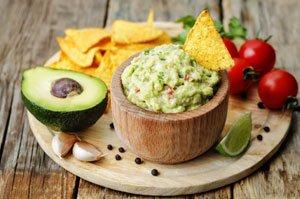 Guacamole ist ein Avocado-Dip
