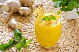 Ingwer-Smoothie mit Mango