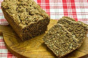 Chia-Brot ist lecker und gesund