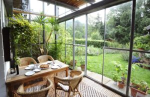 Wintergarten: Schutz vor Hitze und Kälte