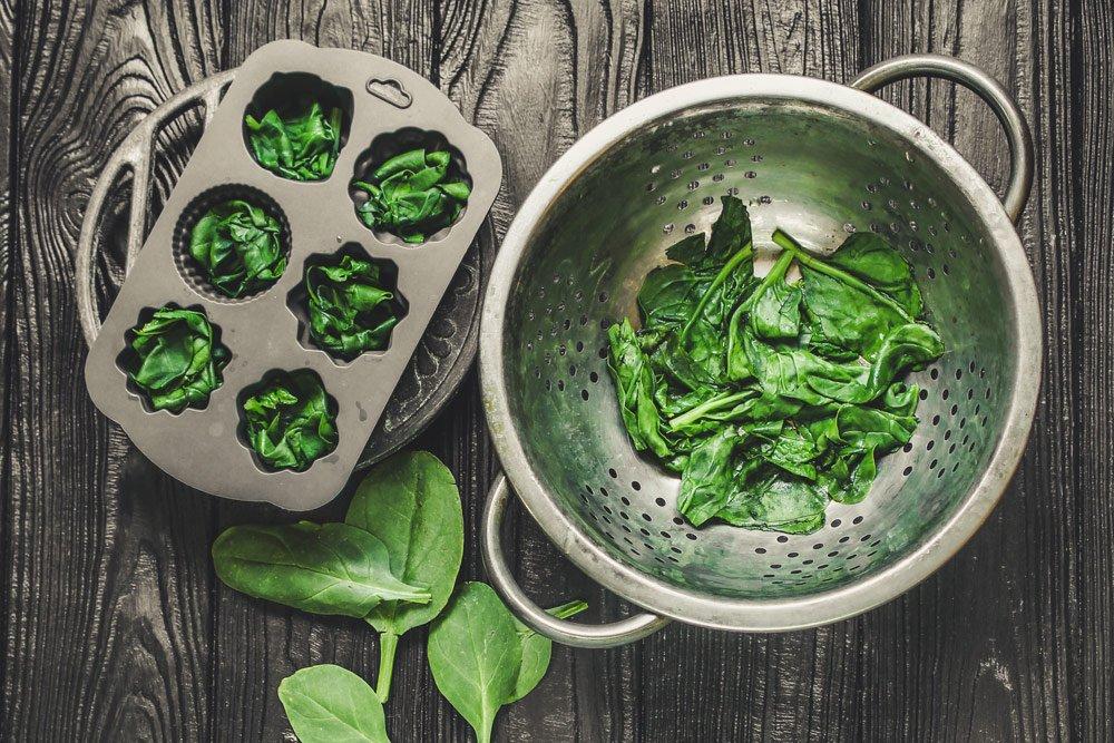 frischen Spinat einfrieren