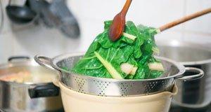 Spinat blanchieren Anleitung Tipps
