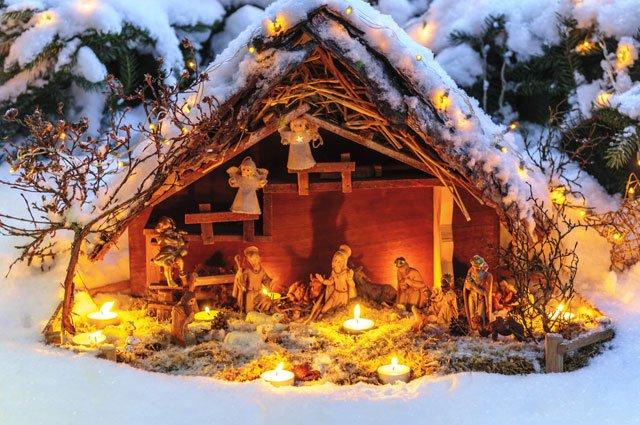16 Ideen: Weihnachtsdeko für Ihren Garten