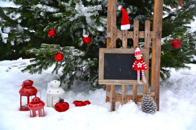 16 Ideen: Weihnachtsdeko für Ihren Garten - Teil 11