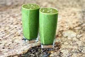 Grüne Smoothies sind sehr gesund