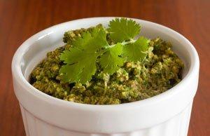 Korianderpesto Rezept: Nicht nur in der asiatischen Küche ein Genuss
