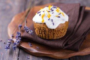 Lavendel Muffins selber machen - Köstliches Rezept zum Nachbacken