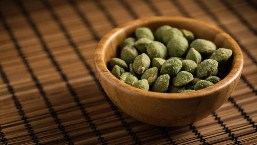 Wasabi-Erdnüsse