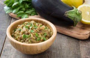 Auberginen-Pesto