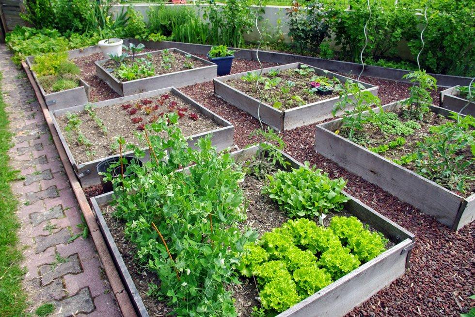 Garten gestalten beispiele  Kräutergarten gestalten – 21 Ideen für große und kleine Gärten