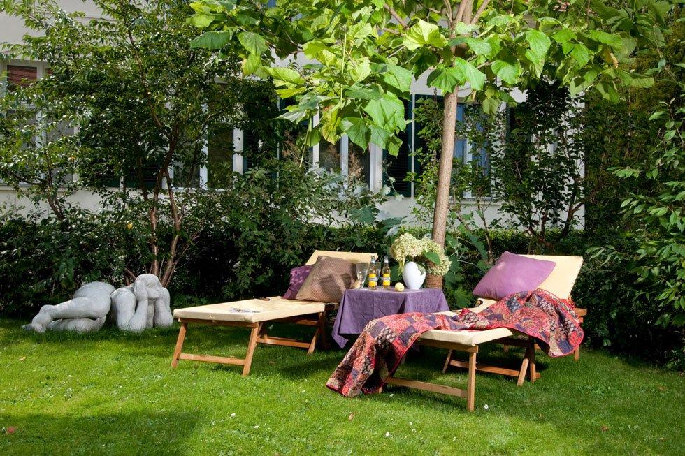 sitzecke im garten gestalten 19 inspirierende ideen f r. Black Bedroom Furniture Sets. Home Design Ideas