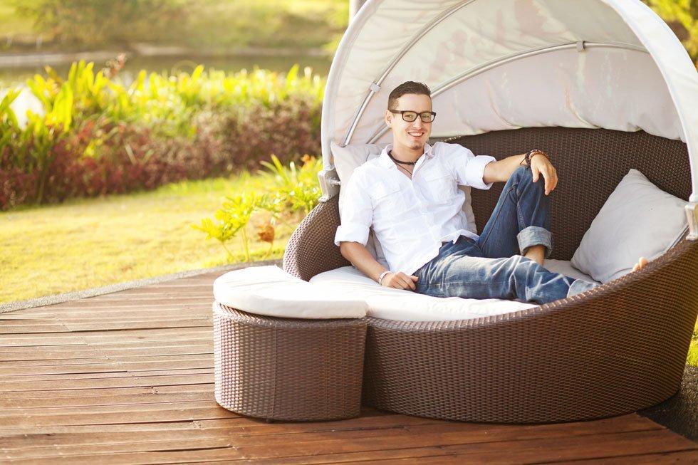 sitzecke im garten gestalten 19 inspirierende ideen f r jeden geschmack teil 8. Black Bedroom Furniture Sets. Home Design Ideas