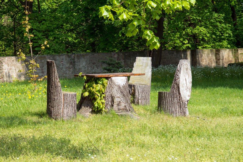 Sitzecke im garten gestalten 19 inspirierende ideen f r for Gartengestaltung rustikal