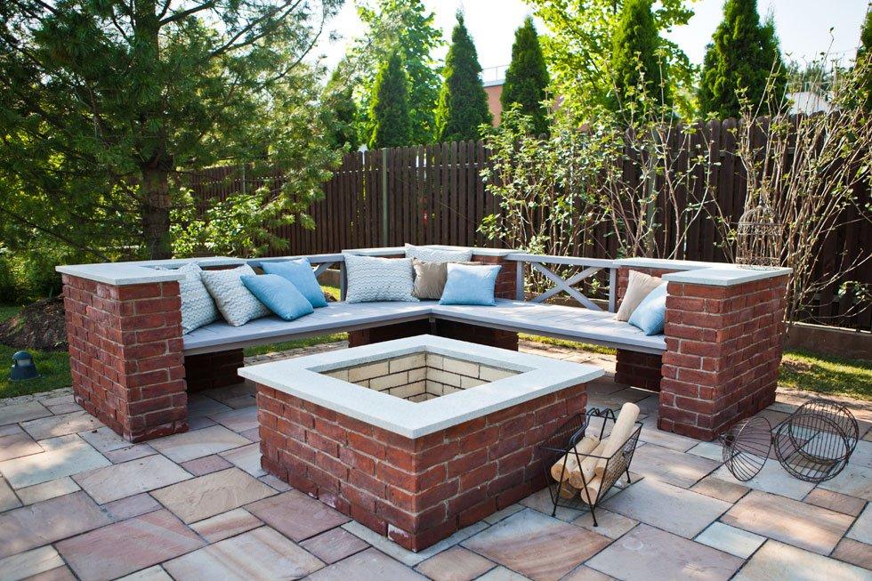 Sitzecke im Garten gestalten – 19 inspirierende Ideen für jeden ...