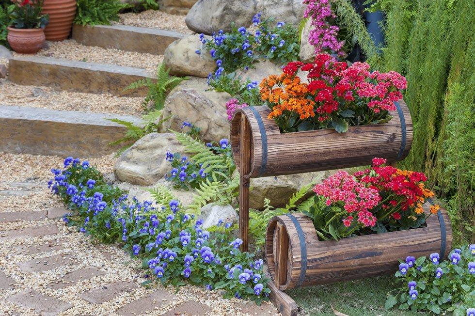 Best Gartengestaltung Mit Steinen Und Blumen Pictures - House Design ...