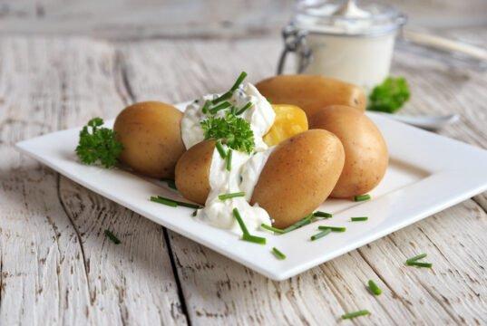 mit Kartoffeln abnehmen
