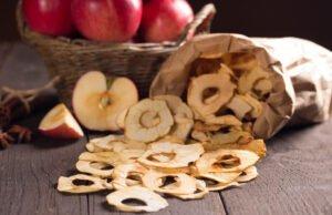 Äpfel trocknen