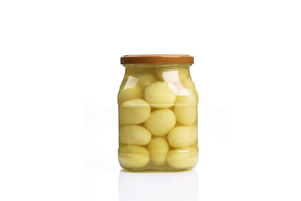 eingeweckte Kartoffeln