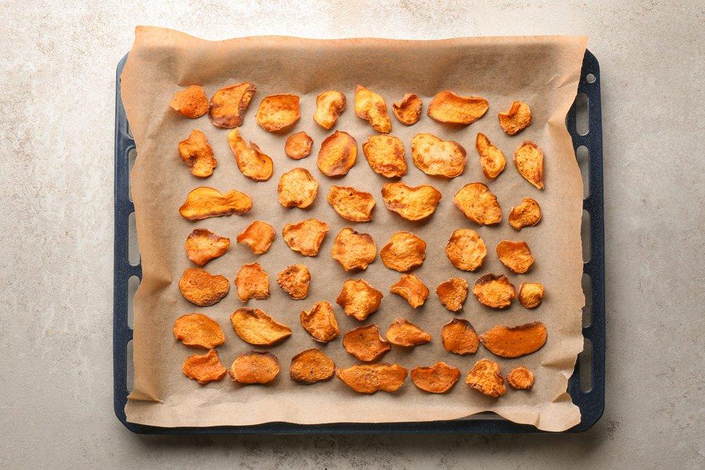 Kartoffelchips selber machen im Backofen