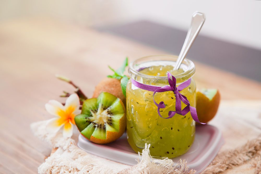 Kiwi-Marmelade: 4 Rezepte für fruchtigen Genuss
