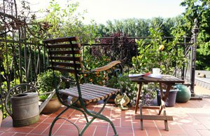 Terrasse mediterran gestalten