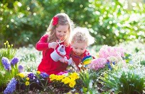 Gartenarbeit Kinder