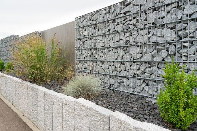 Gartenzaun modern metall