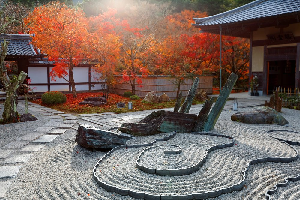 Zen-Garten gestalten