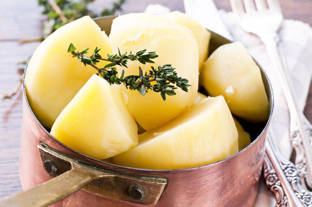 Gekochte Kartoffeln einfrieren