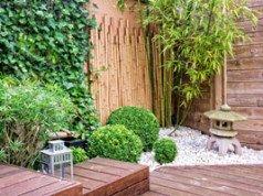 Terrassendielen aus Bambus reinigen und pflegen