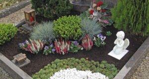 Grabgestaltung mit Gräsern