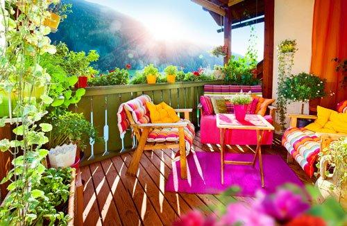 Kleiner garten auf dem balkon: balkonpflanzen balkon gestalten ...