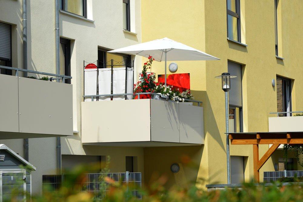 Balkon Ideen Sichtschutz
