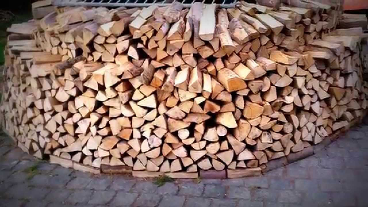 Video: Runde Holzmiete Stapeln U2013 Tipps Zum Sichereren Und Stabilen Aufbau