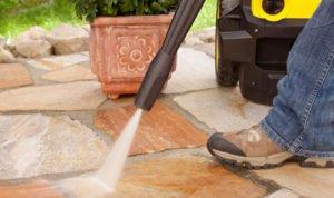 Regenwasser nutzen und Trinkwassersparen bei Reinigungsarbeiten