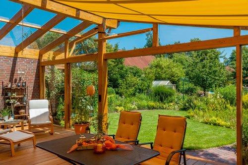 baldachin im wintergarten integrieren vorteile des. Black Bedroom Furniture Sets. Home Design Ideas