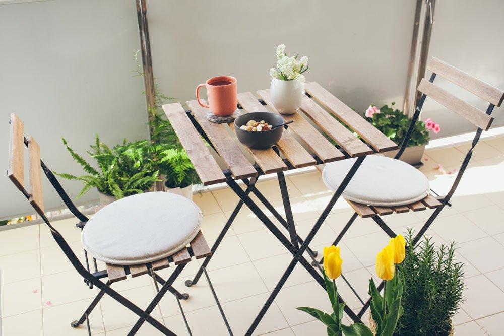 Kleinen Balkon Einrichten 6 Platzsparende Ideen
