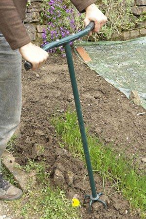 Gartenkralle im Einsatz