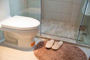 Gartenhaus Dusche Toilette