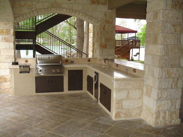 Gartenk che planen in 4 schritten zur neuen outdoork che for Layout di patio all aperto