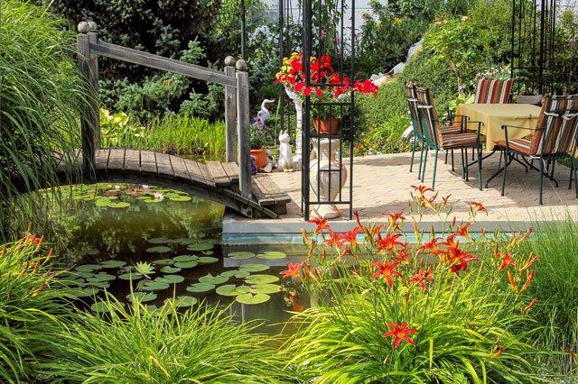 Gartengestaltung nach zonen so bekommt jeder seinen for Garten gestalten mit teich