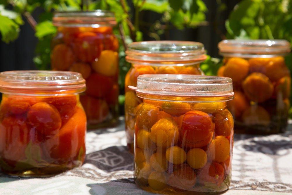 Tomaten einwecken