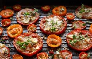 Tomaten grillen