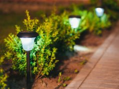 Gartenweg Solarlampen